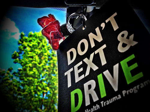 Don't Text and Drive #ItCanWait